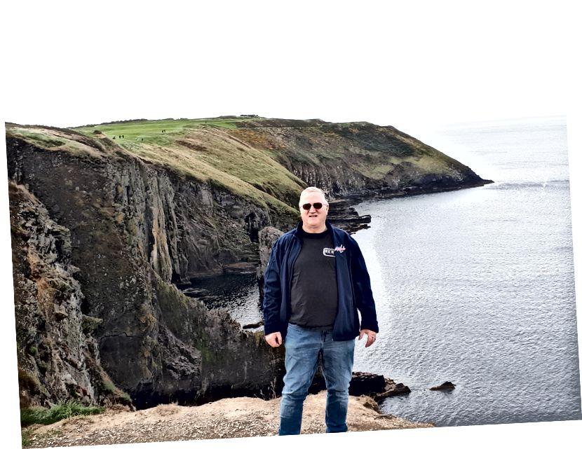 Ayakta eski baş, kinsale, cork, İrlanda