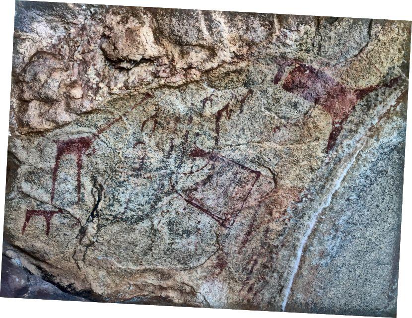 Slike jamskih jam Laas Geel