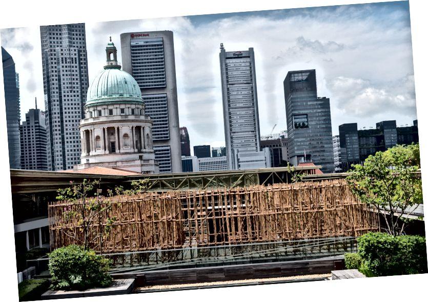 'İsimsiz 2018' kurulum görünümü | Singapur Ulusal Galerisi'nin izniyle