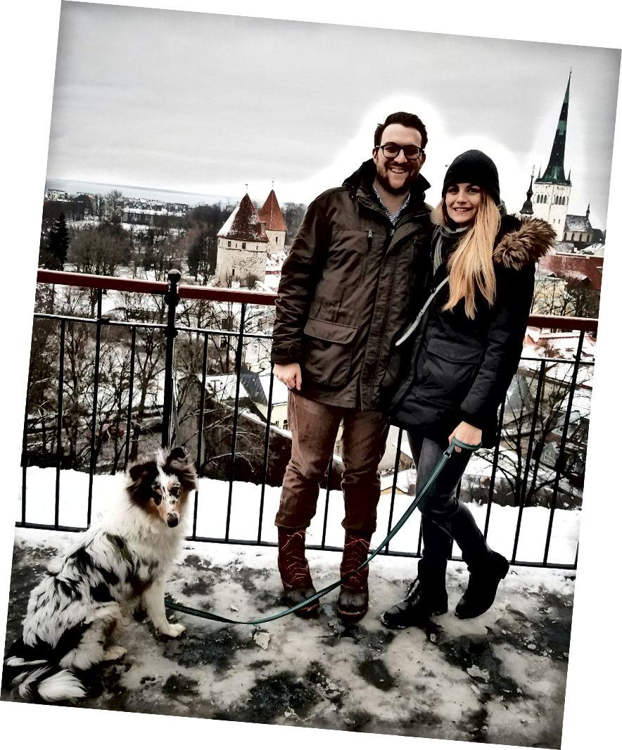 Алекс Велман переїхав з Вашингтона в Таллінн і взяв із собою дружину Кайлу Лахті - вона віддалено працює в американській компанії. Пара добре оселилася на своїй новій батьківщині і навіть взяла собаку! Фотокредит: Алекс Вельман.
