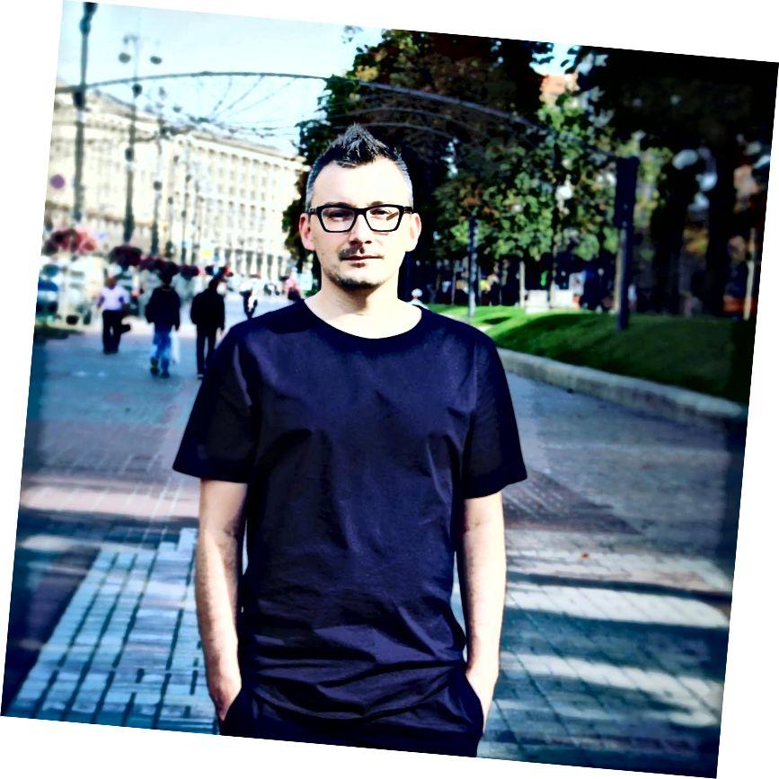 Український дизайнер UX Кирило Славецький жив і працював у багатьох країнах, і більше не міг його рекомендувати. Кредит фото: Кирило Славецький.