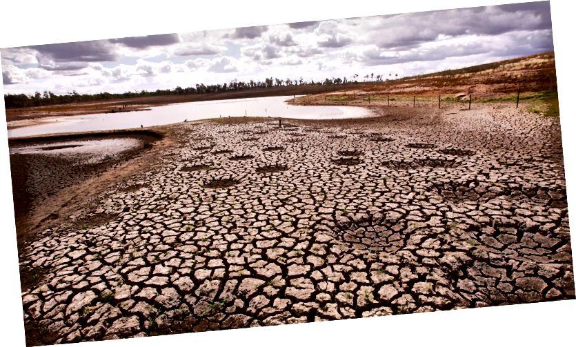Impactos das mudanças climáticas