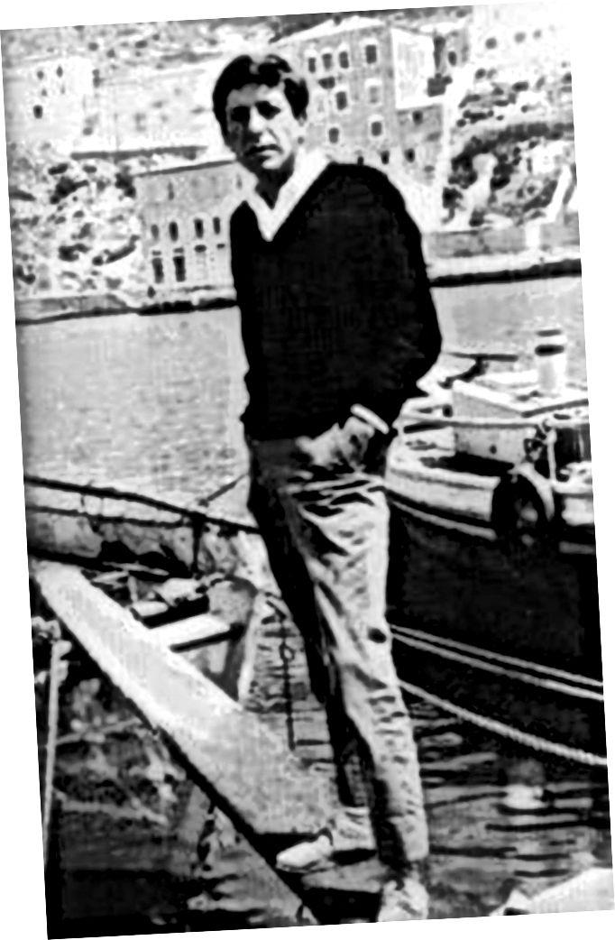 Hydra'da Leonard Cohen, 1964