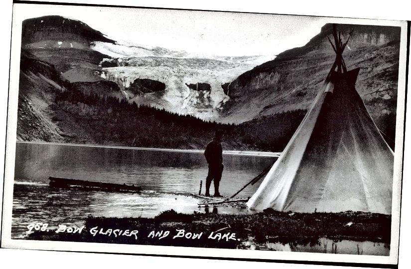 The Glacier Bow năm 1924. Ảnh của Harmon Byron.