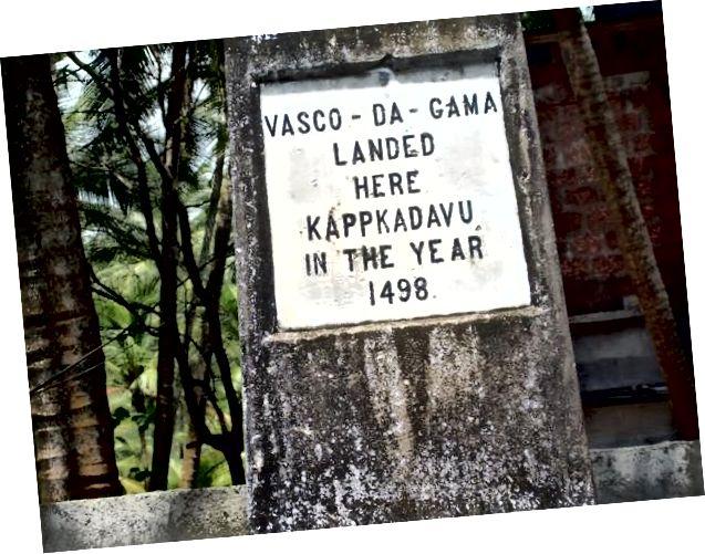 Đài tưởng niệm Vasco Da Gama tại Kappad