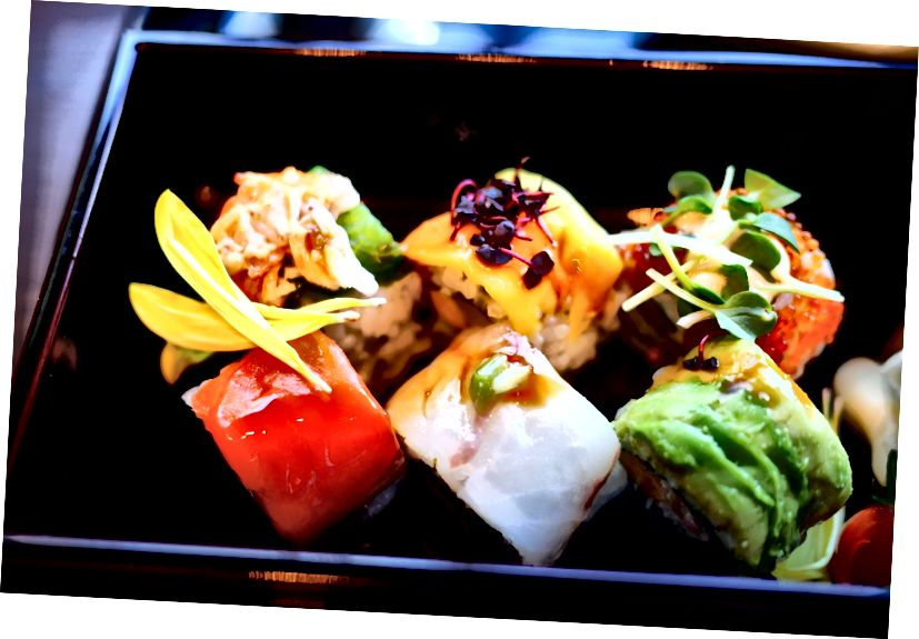 Rolls ที่ Shari The Tokyo Sushi Bar