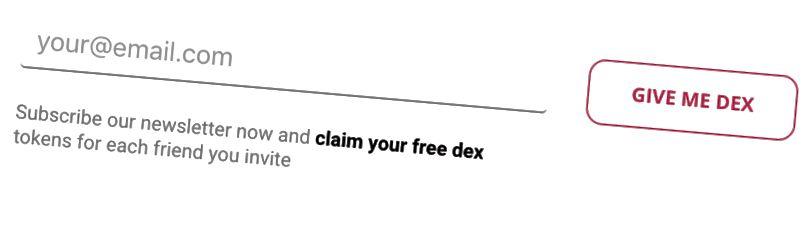 Перейдіть на сторінку https://www.dexlab.io/ і підпишіться на нашу розсилку