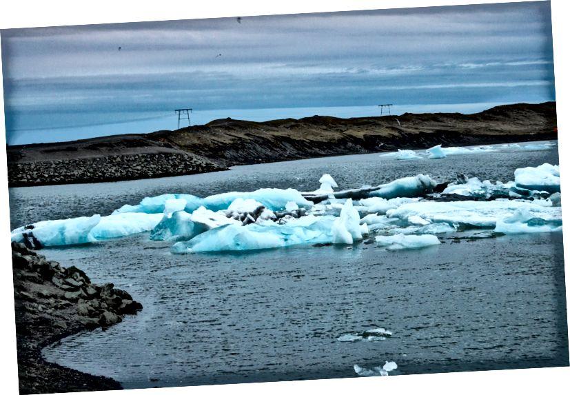 Gletscher Lagun