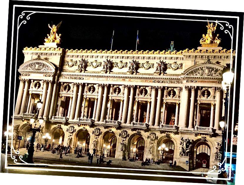 Палац Гарньє, Париж