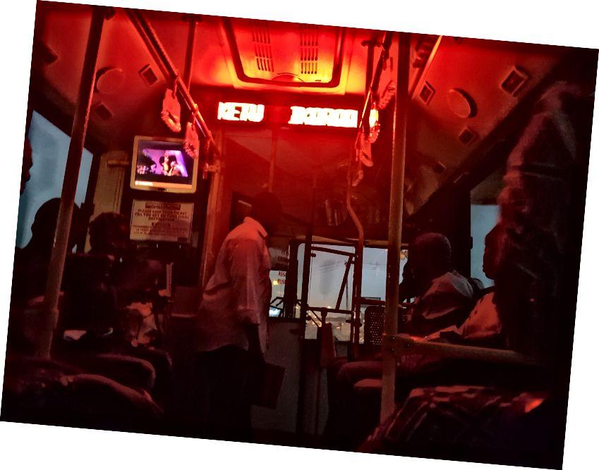 Ми доїхали до Лагоса до вечора. І ця фотографія найкраще описує мій настрій у той час.