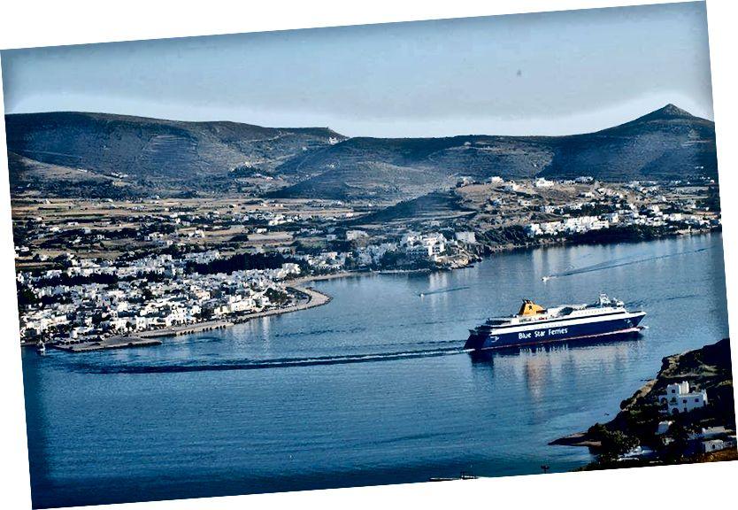 Bờ biển nhỏ, Chân trời lớn: Hình ảnh của Paros
