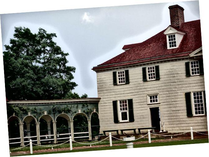 Історичний будинок та могильники Джорджа Вашингтона в Маунт-Верноні, штат Вірджинія