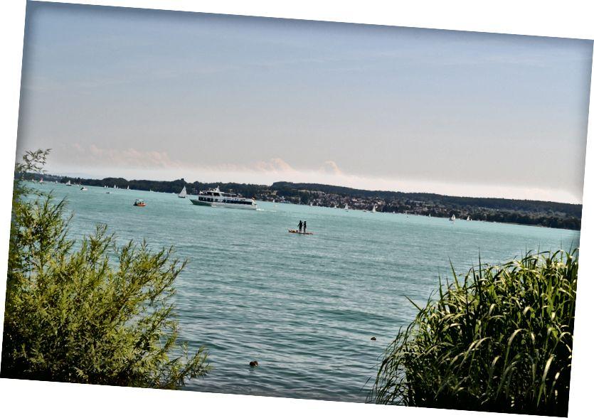 Muhteşem Konstantz Gölü (Bodensee), Ravensburg'dan İsviçre'ye yarım saat uzaklıktadır. Mükemmel hafta sonu nokta!