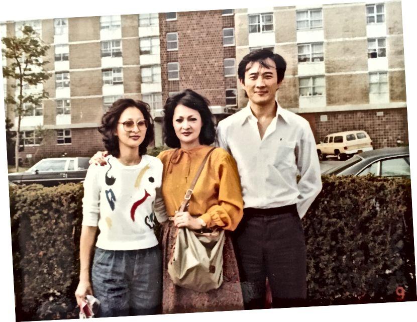 Rubīns un mani vecāki Filī… vai Ņujorkā