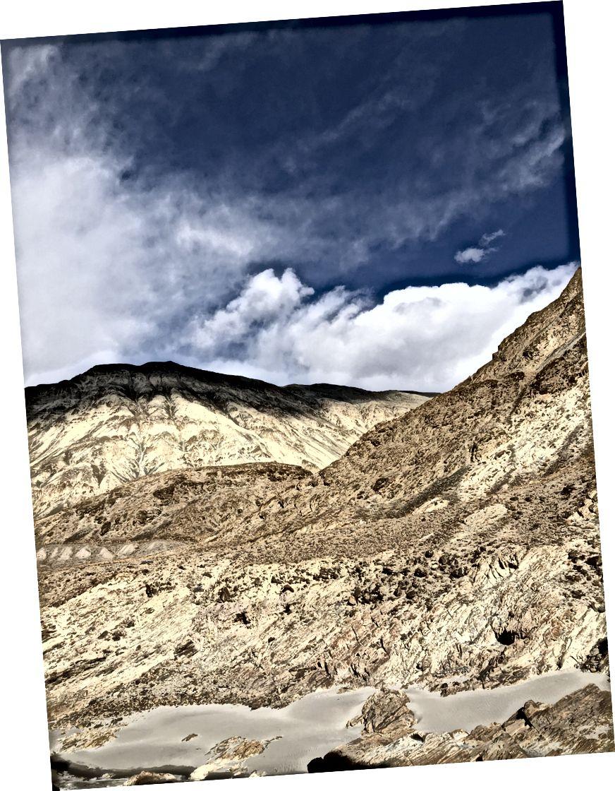 Sắc thái của núi