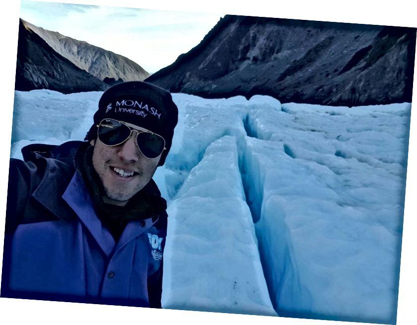 Glacier Heli Zammı Aotearoa (Yeni Zelanda) ziyaretime vurgulamak olarak.
