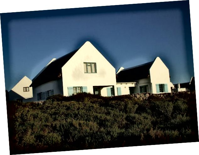 Modern Cape Dutch House, Jacobsbai, Batı Kap