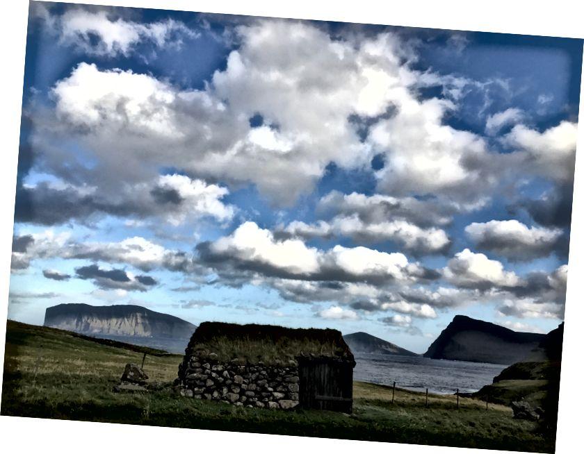 Klasik Faroese mimarisi. Bana göre fotoğraf.