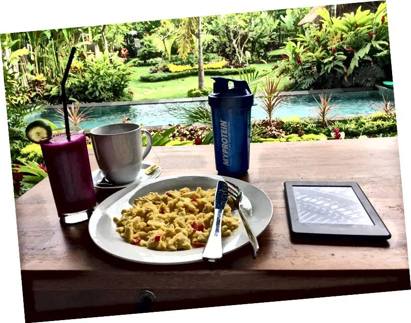 Kahvaltımı her gün böyle alıyorum