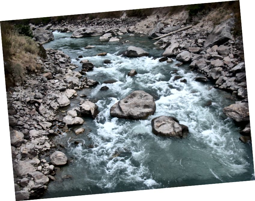 Ilus Bhotekoshi jõgi
