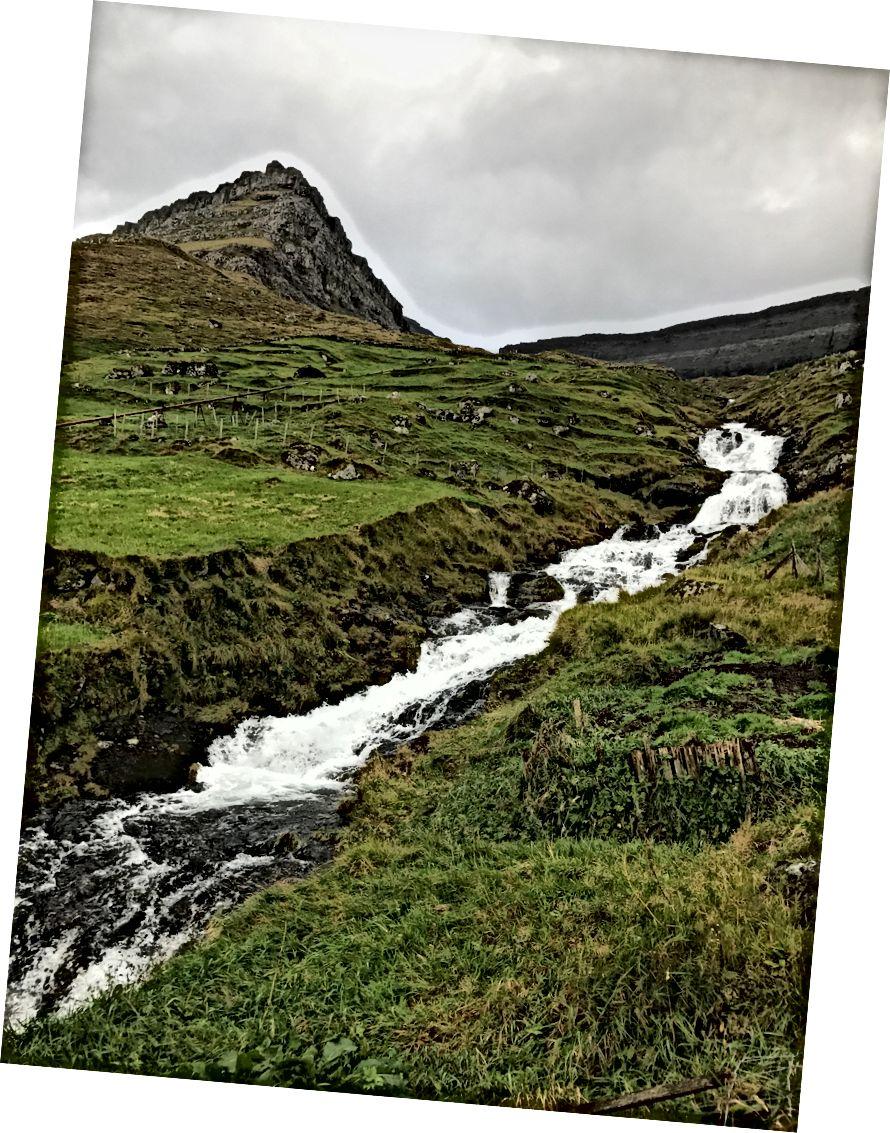 Faroe Adaları - Ekim 2017. Fotoğraf bana göre.