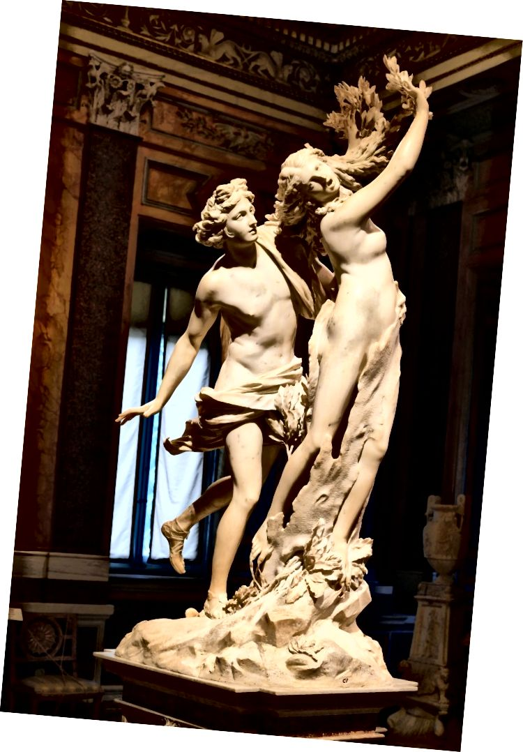 Apolon i Dafne, Bernini. Slika Wikimedije Commons autor Architas, CC-BY-SA 4.0