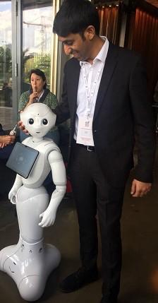 Şehirdeki Yeni Robot ile Tanışın