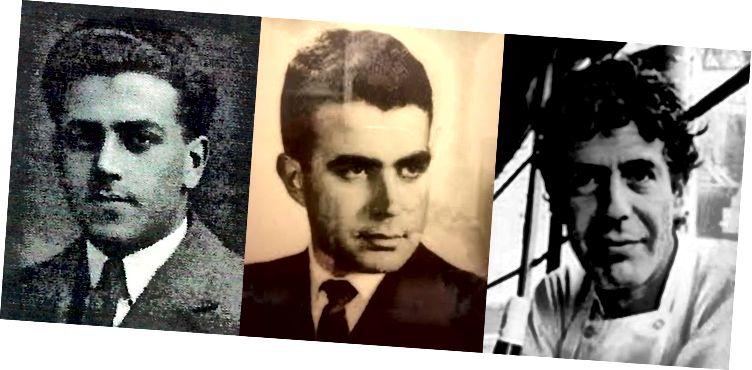 Som bestefar, som sønn, som barnebarn? Pierre M. Bourdain, Pierre Bourdain og Anthony Bourdain