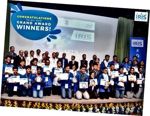 Team India ISEF 2018 (надано фото та редагування: Національна наукова виставка IRIS)