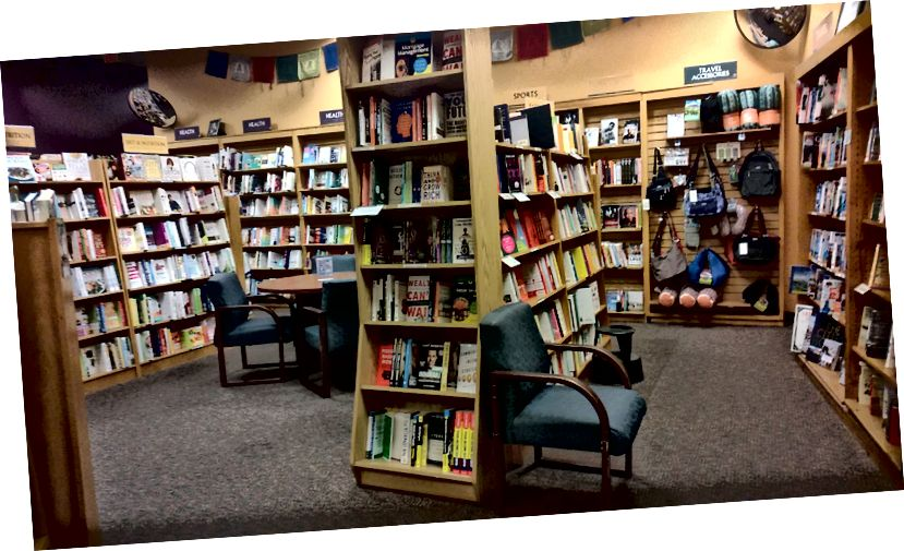 Photo Credit: Me - Changing Hands Bookstore ligger i Tempe, Arizona