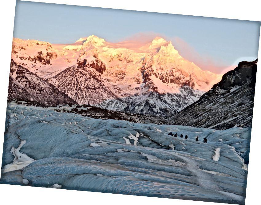 Vatnajökull, foto av Kathy McDonald