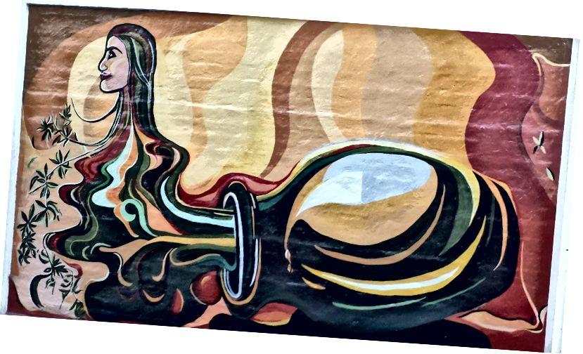 Fotoğraf yazarı - Mendoza, Arjantin'de Sokak Sanatı