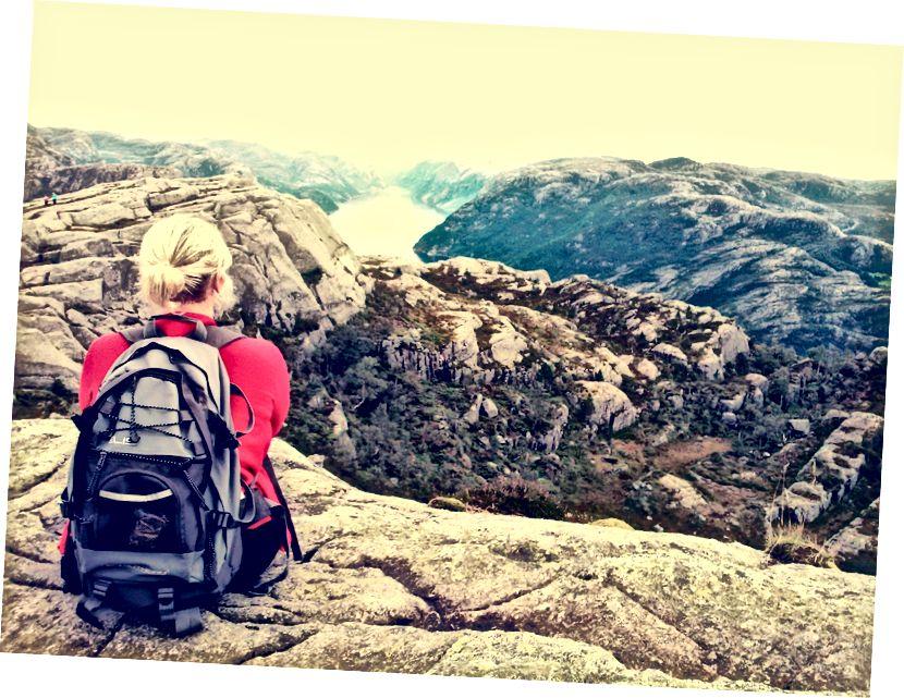 Batı Norveç Fiyordları (Karolina Kulach'ın fotoğrafı)