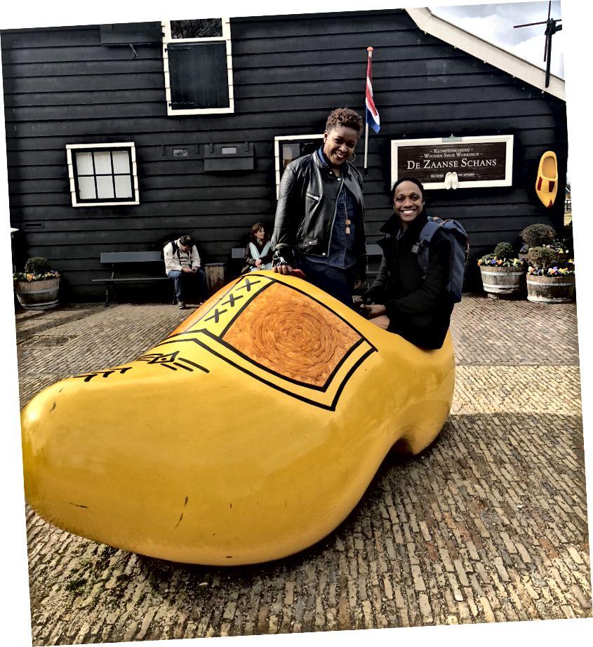 Відвідування Zaanse Schans в Амстердамі, Голландія
