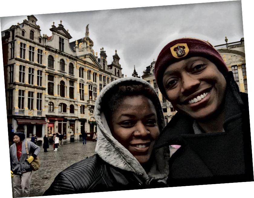 Гуляння у The Grand Place у Брюсселі, Бельгія