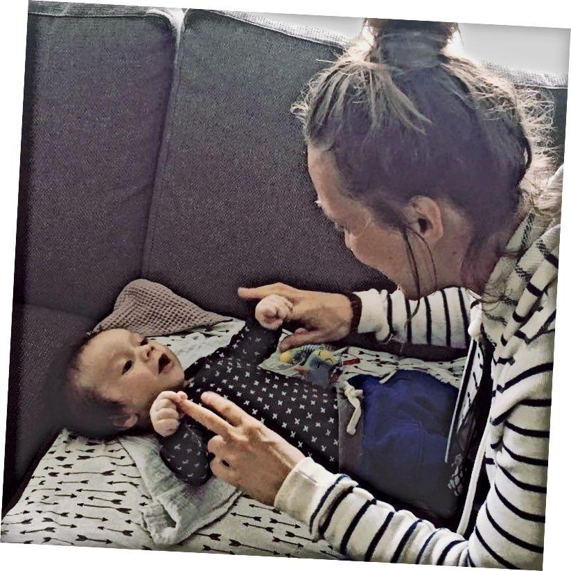 Gặp cháu tôi (3 tháng tuổi). ❤