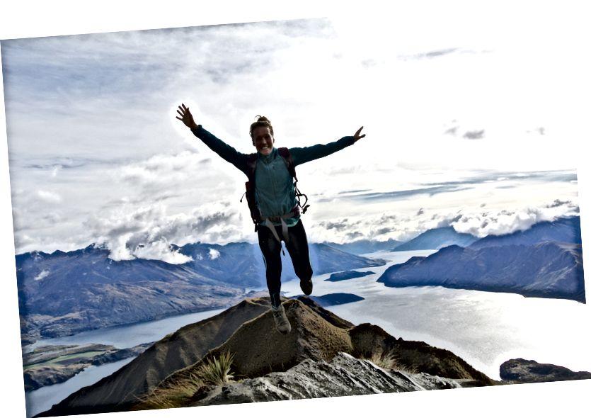 Tự do, phiêu lưu trên đỉnh núi @ Roys ở Wanaka, New Zealand.