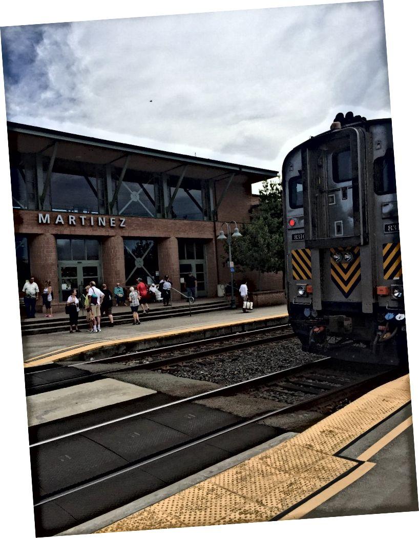 Sau đó, Amtrak