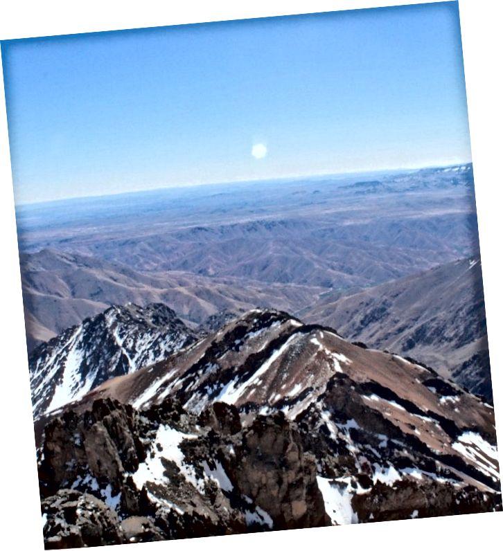 Поблизу вершини гори Тубкал