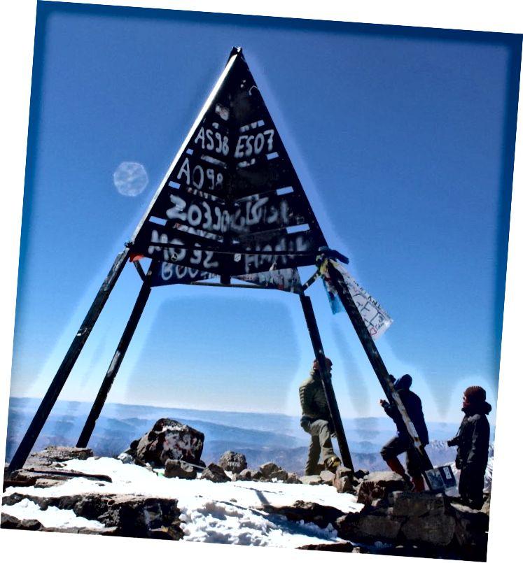 Саміт гори Тубкал