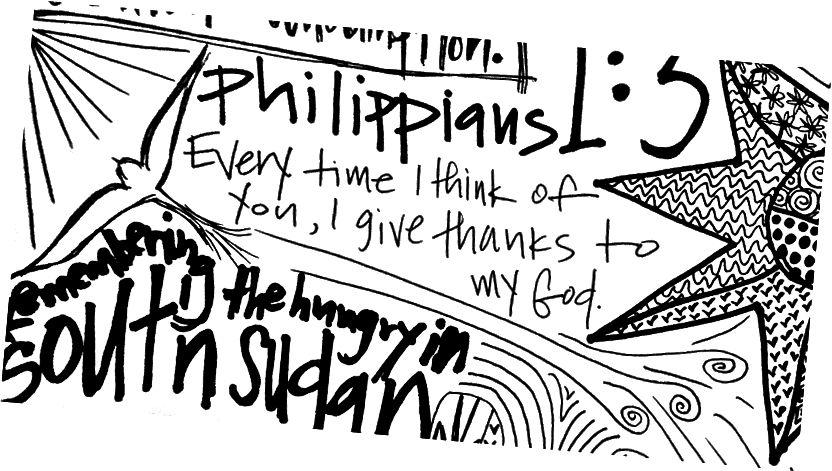 Частина каракулі від Дня подяки, 2015 - зображення від Lindsay Linegar