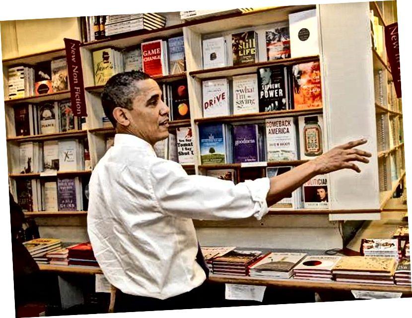 Başkan Obama Prairie Lights Kitaplar. Iowa City, Iowa. Facebook.com adresinden erişildi 3/28/2017