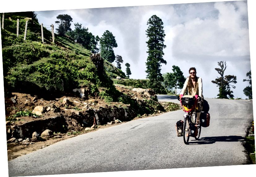 Дарио из Швајцарске - Вожња бициклом истом рутом као и ми. У Дарцха-у се упутио у долину Занскар, уместо да се упути у Лех