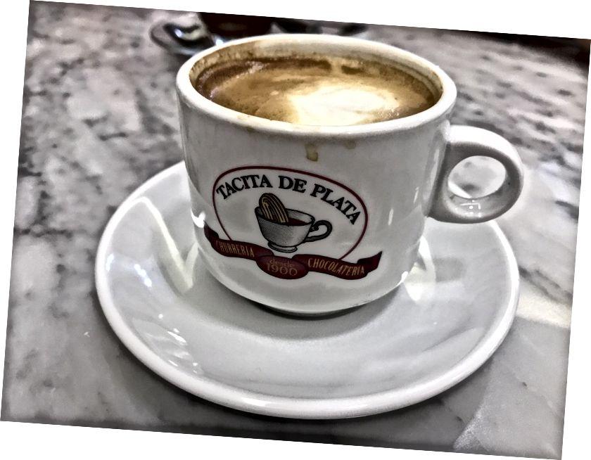 Đây là tách cà phê ngon thứ hai tôi có ở Tây Ban Nha!