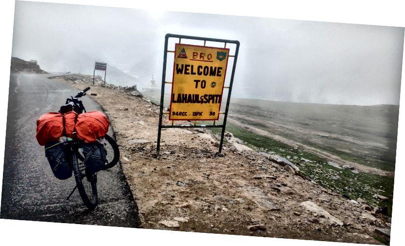Завршетак успона на прелаз Рохтанг (3980 мсл)