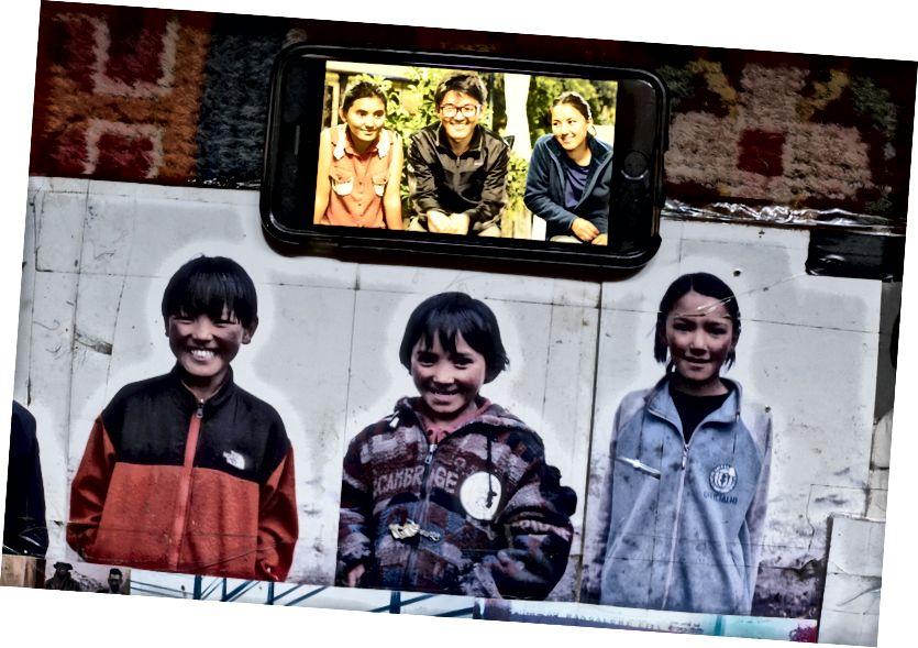 3 đứa trẻ Sherpa mà chúng tôi hỗ trợ. Cách nhau 11 năm. 2005 và 2016. Tất cả các bức ảnh được chụp bởi tôi.