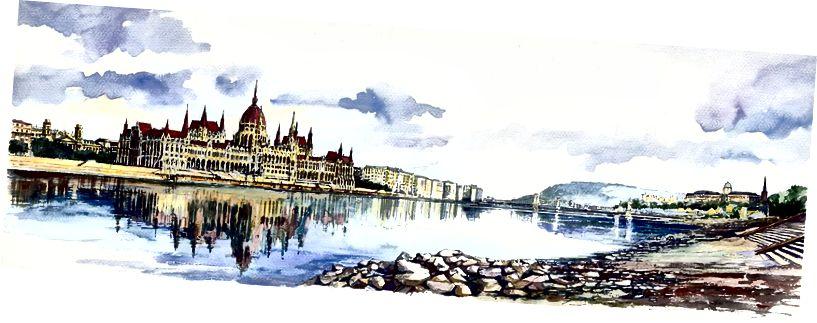 Панорама Будапештський парламент - Піксабай