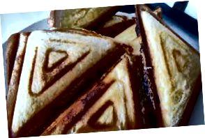 İyi bir toastie seviyorum, ama bir yemek değil.