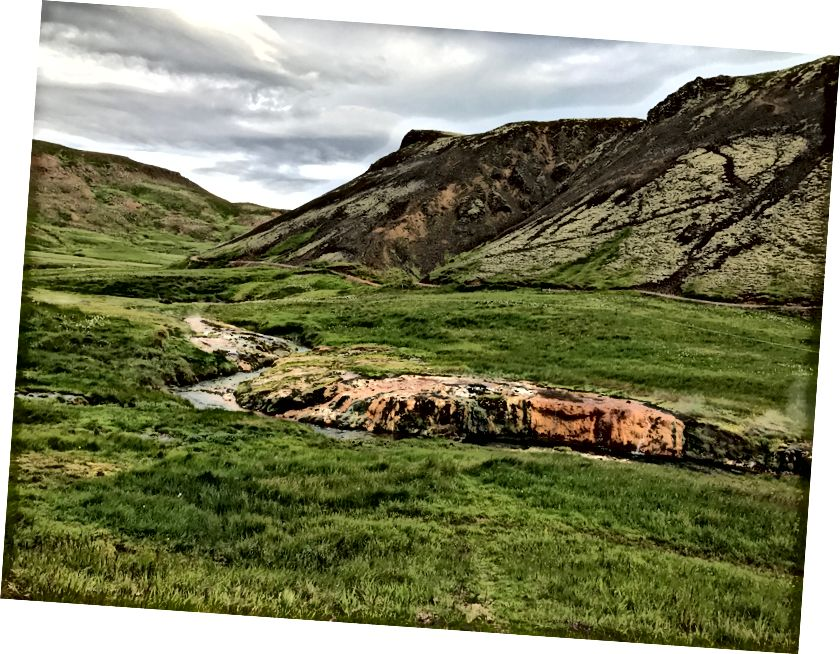 """Hveragerdi Hot Spring River"" - 2017 m. Liepa - Ali nuotr"