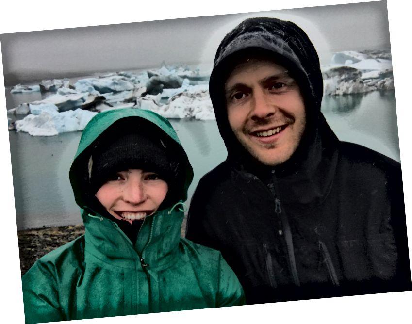 Užšalimas lietaus metu Jökulsárlón - 2017 m. Rugsėjis - Ali nuotr